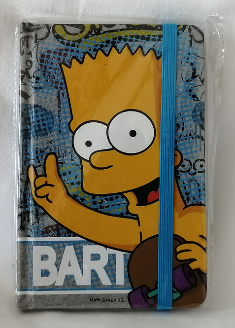 Caderno Bart Simpsons