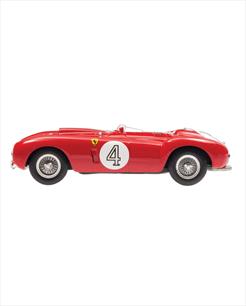 Ferrari 375 plus vermelha - escala 1/43