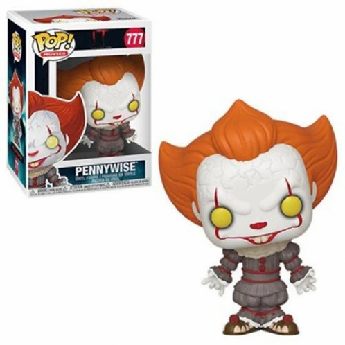 Pennywise with open arms