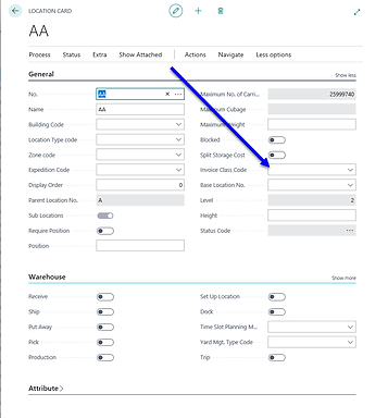 Boost your invoicing options with storage fee per location