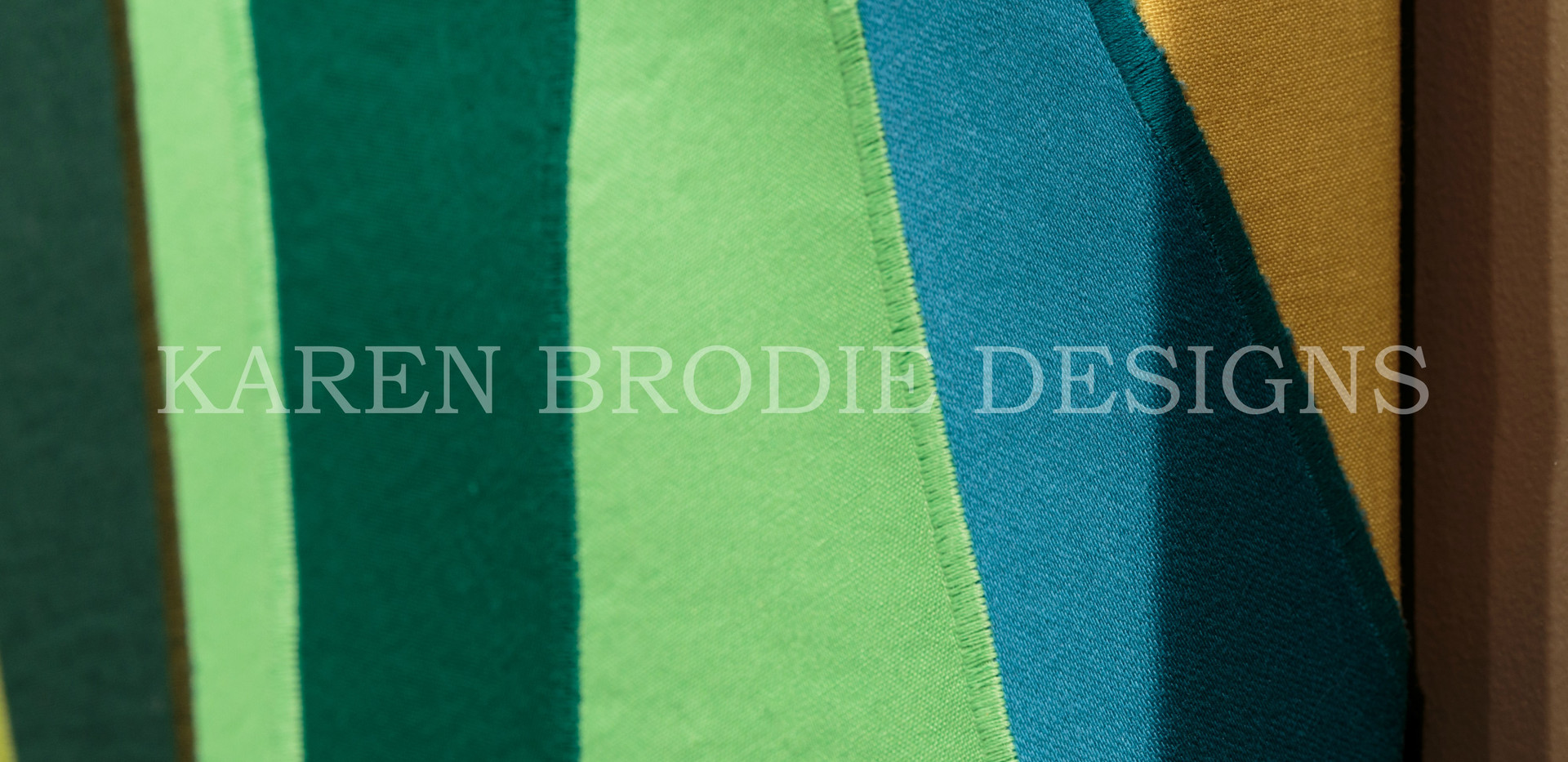 Fabric Art Close-Up