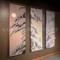 fabric canvas art