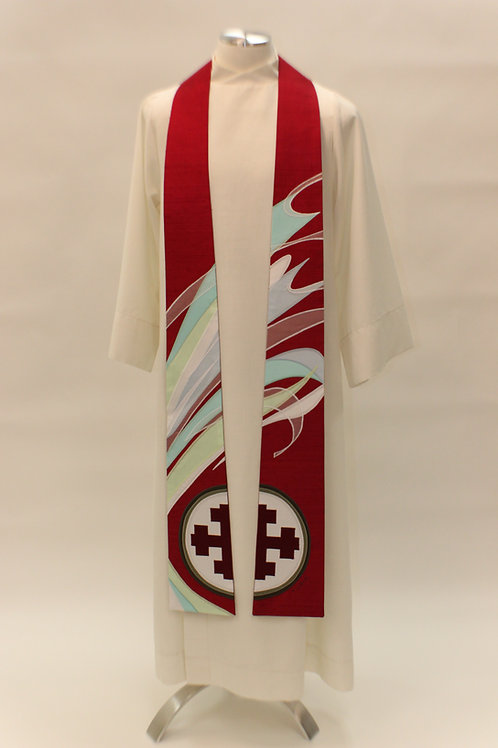 Ruach - The Breath of God - Custom Clergy Stole