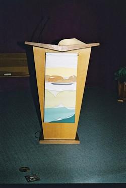 Church Art Banner