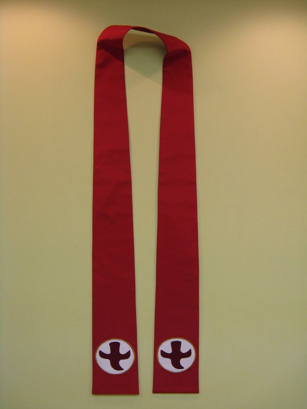 Commissioned Handmade Stole Design