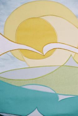 Fine Fabric Art Close-Up