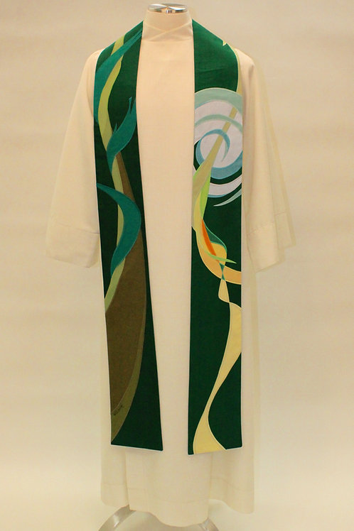 Vine and Branches Custom Clergy Stole