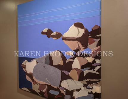 Custom Fine Fabric Art