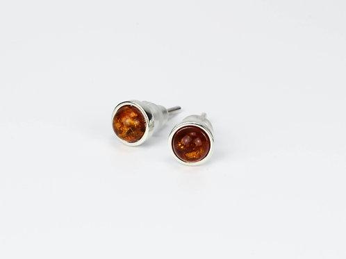 Серьги с камнями 3-5 мм