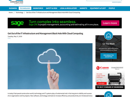 Get Out of the IT Infrastructure and Management Black Hole With Cloud Computing