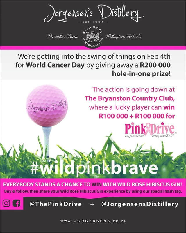 Pink Drive Gholf day Hole-in-one Sponser