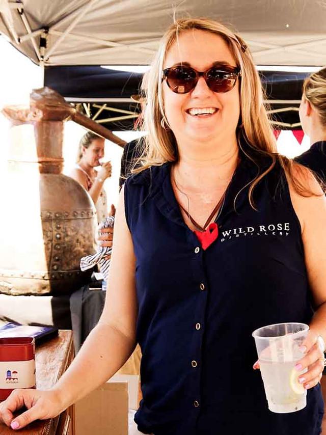 Jorgensen's @ festival Nadia Roos