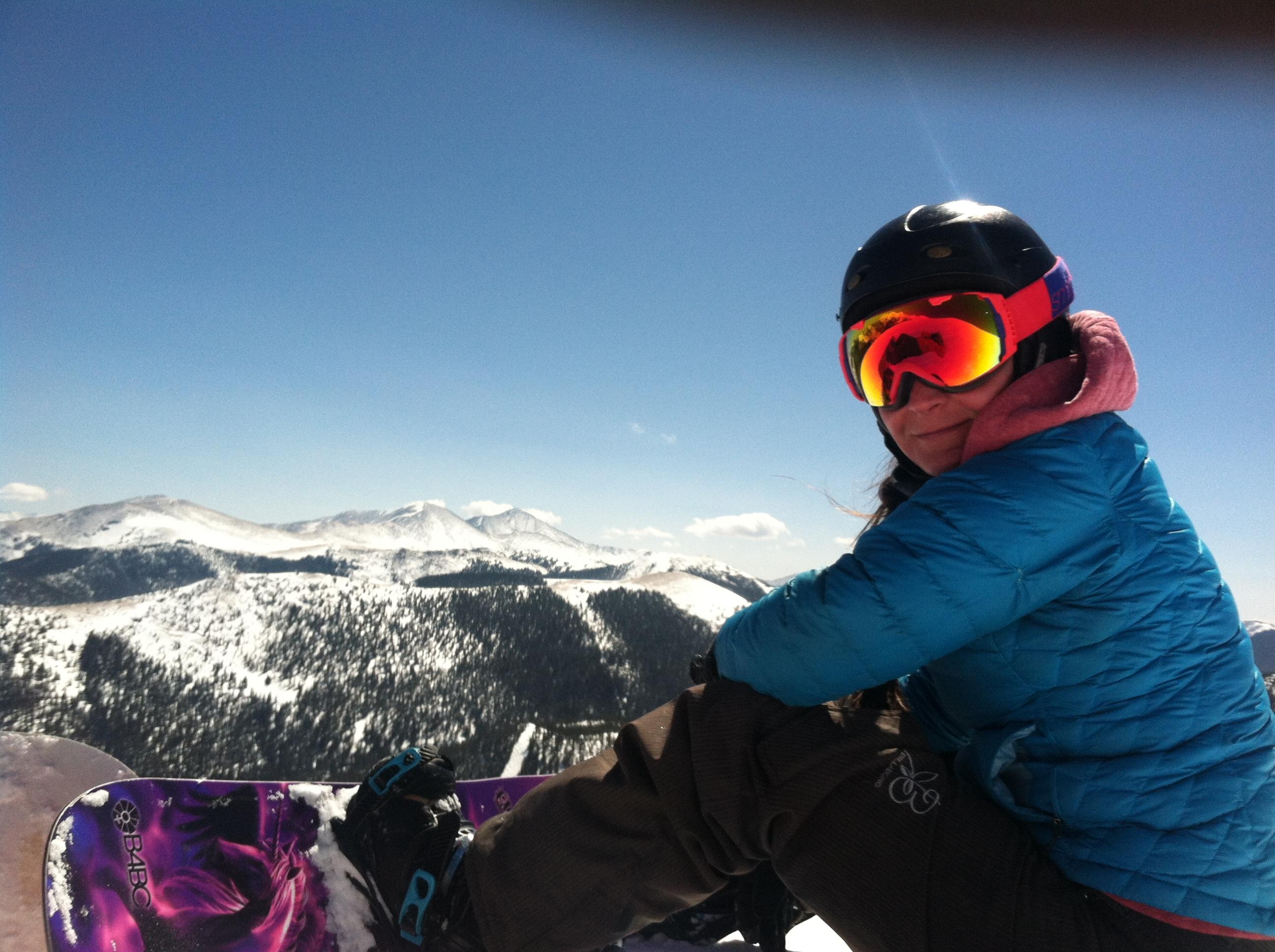 Snowboard the peaks!