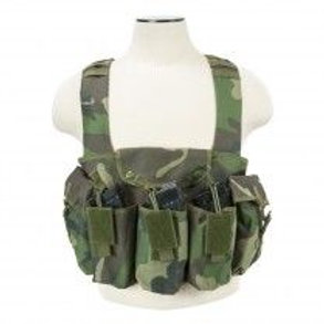 VISM® by NcSTAR® AK CHEST RIG/WOODLAND CAMO