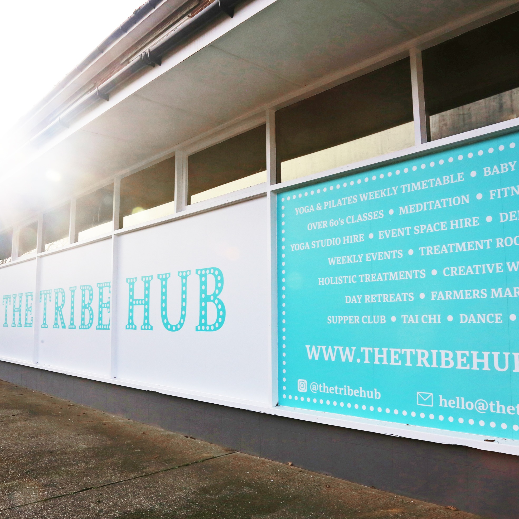 The Tribe Hub outside