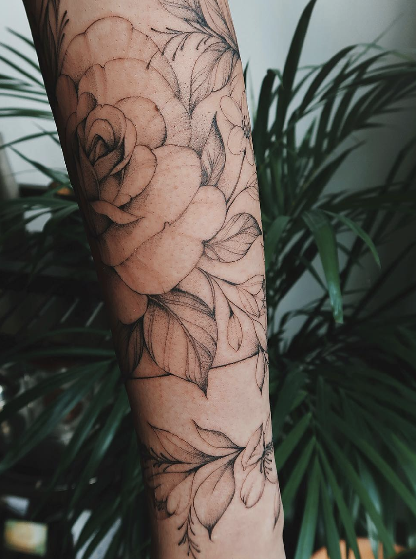 Olga tattoo ocean