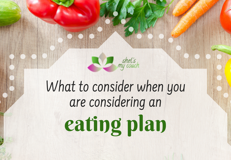 What to Consider When You Are Considering an Eating Plan