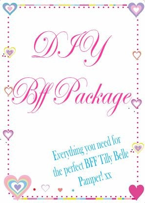 DIY BFF Package