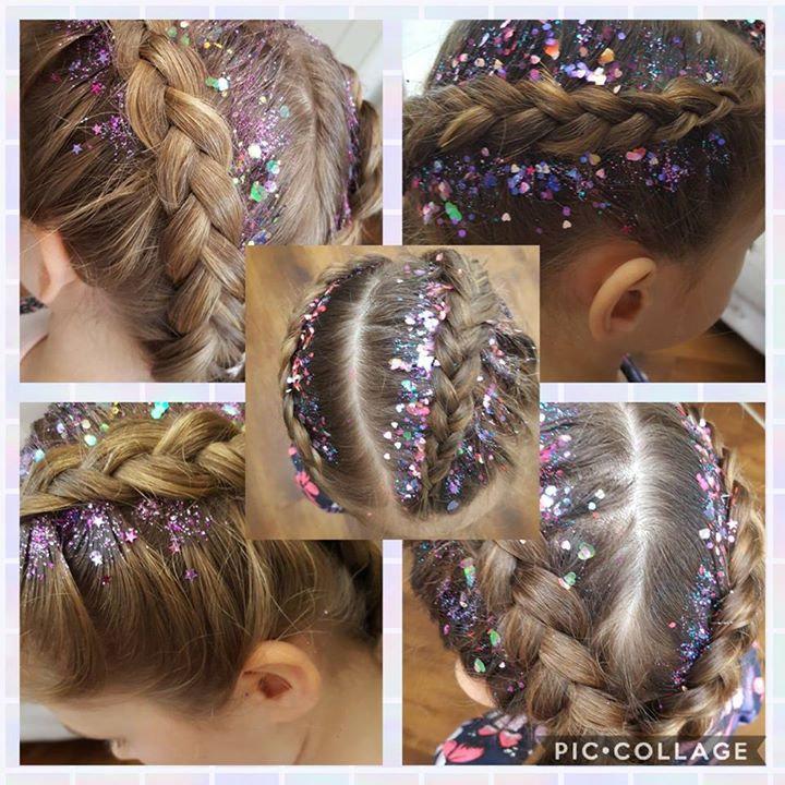 Glitter Girl Braids