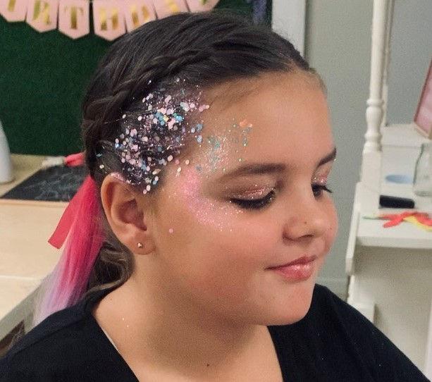 Glitter Girl Makeover