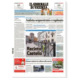 Il Giornale di Vicenza, Sovizzo, 2019