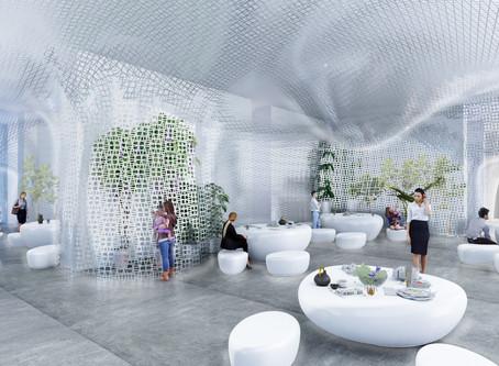 "TANZI ARCHITECTURE won ""The White Lobby ""Competition"