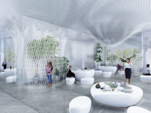 "TANZI ARCHITECTURE won ""The White Lobby ""Competition"