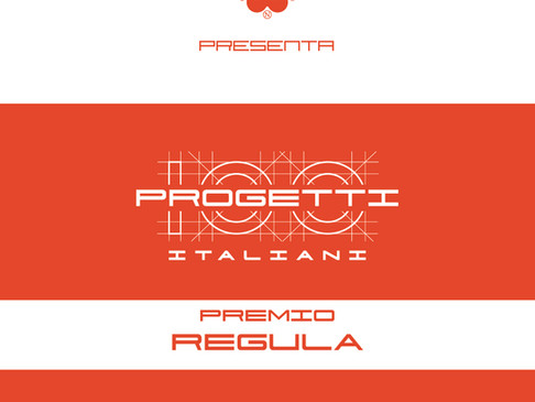 100 Progetti Italiani - Premio Regula