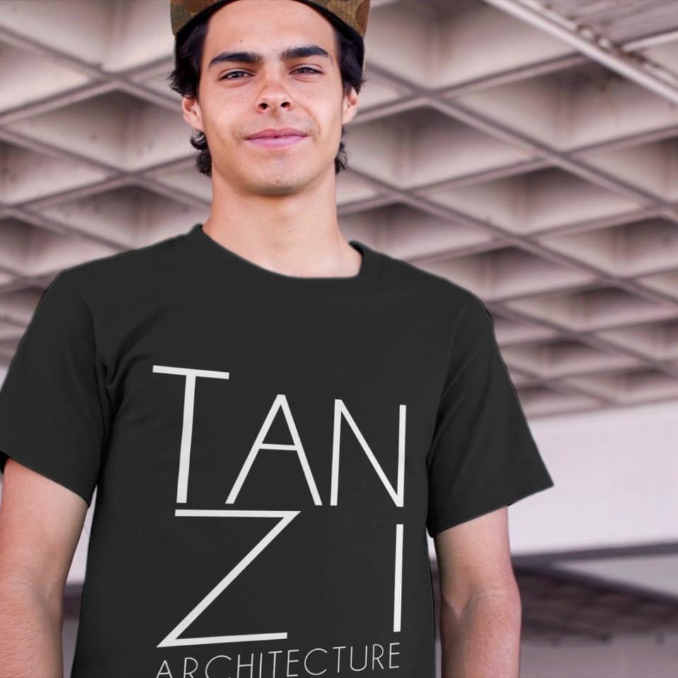 man t-shirt video