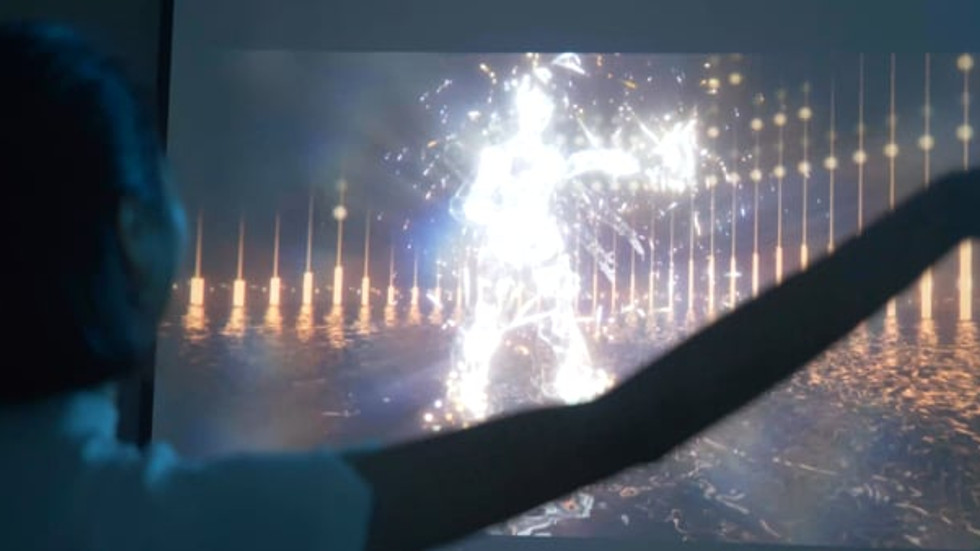 Immersive Augmented Reality (AR) Dance Effect One