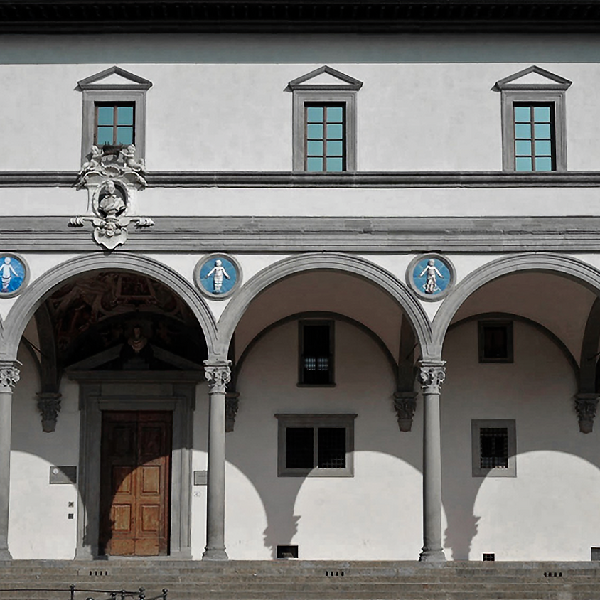 Florence's Great  Monuments Series: A Charitable Past: Brunelleschi's Hospital of the Innocents