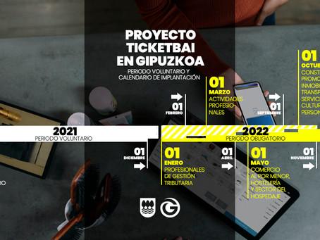 El calendario del Ticket Bai en Gipuzkoa