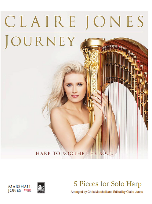Journey - 5 pieces arranged for Solo harp