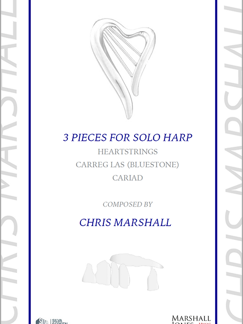 3 Pieces for Solo Harp - By Chris Marshall