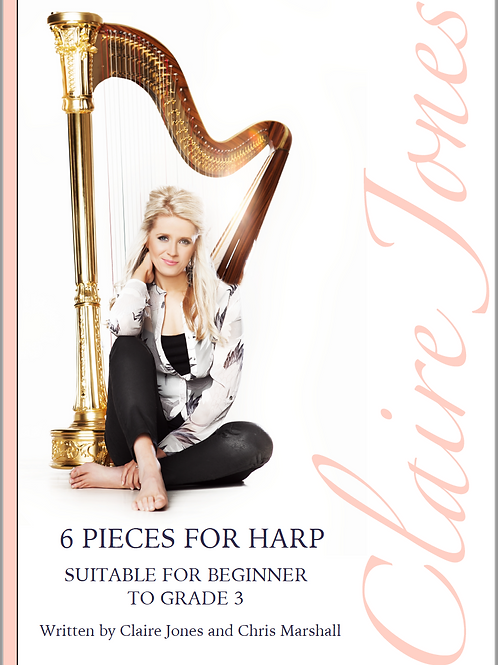 6 pieces for Harp - Suitable for Beginner to Grade 3