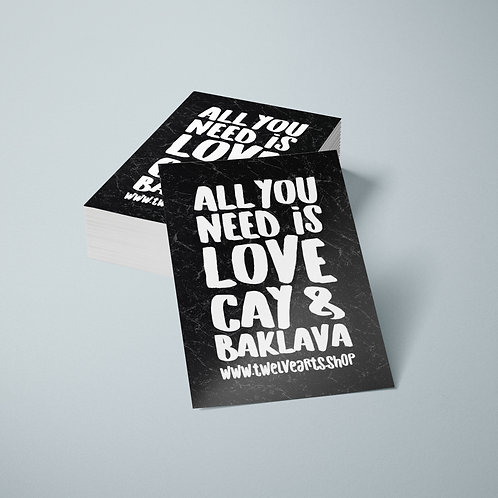 ALL YOU NEED STICKER