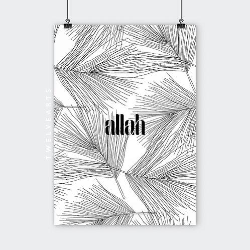 ALLAH B/W