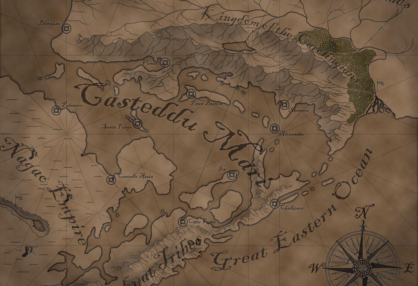 The Castled Sea