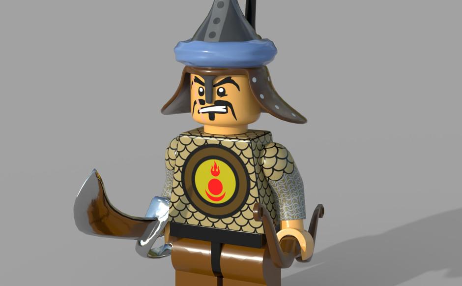 Lego Gengis Khan