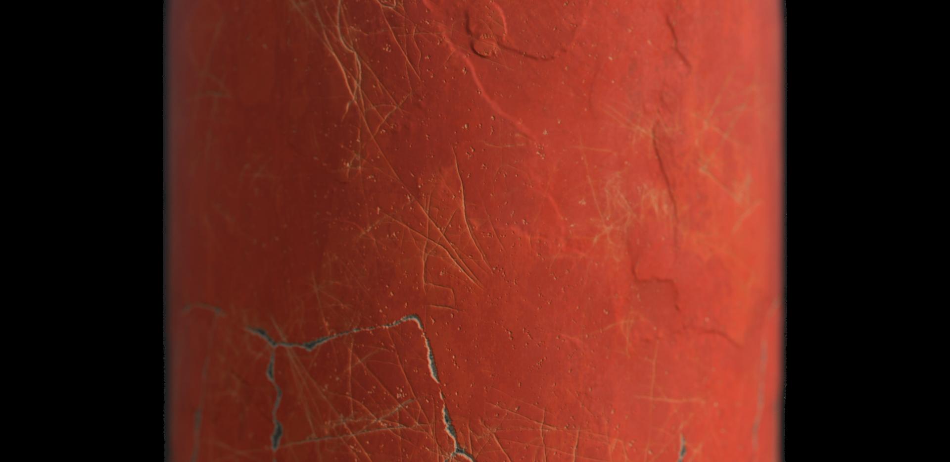 Roman Painted Stucco