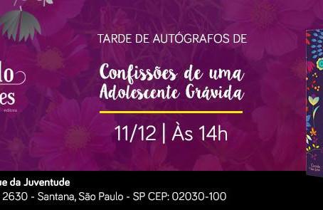 Graciela Paciência lança seu livro na BSP