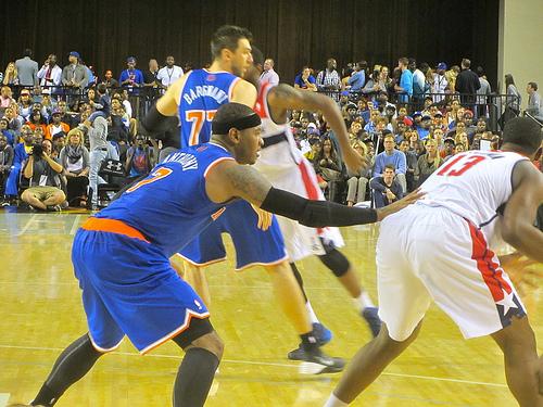 BBC, Knicks, Carmelo
