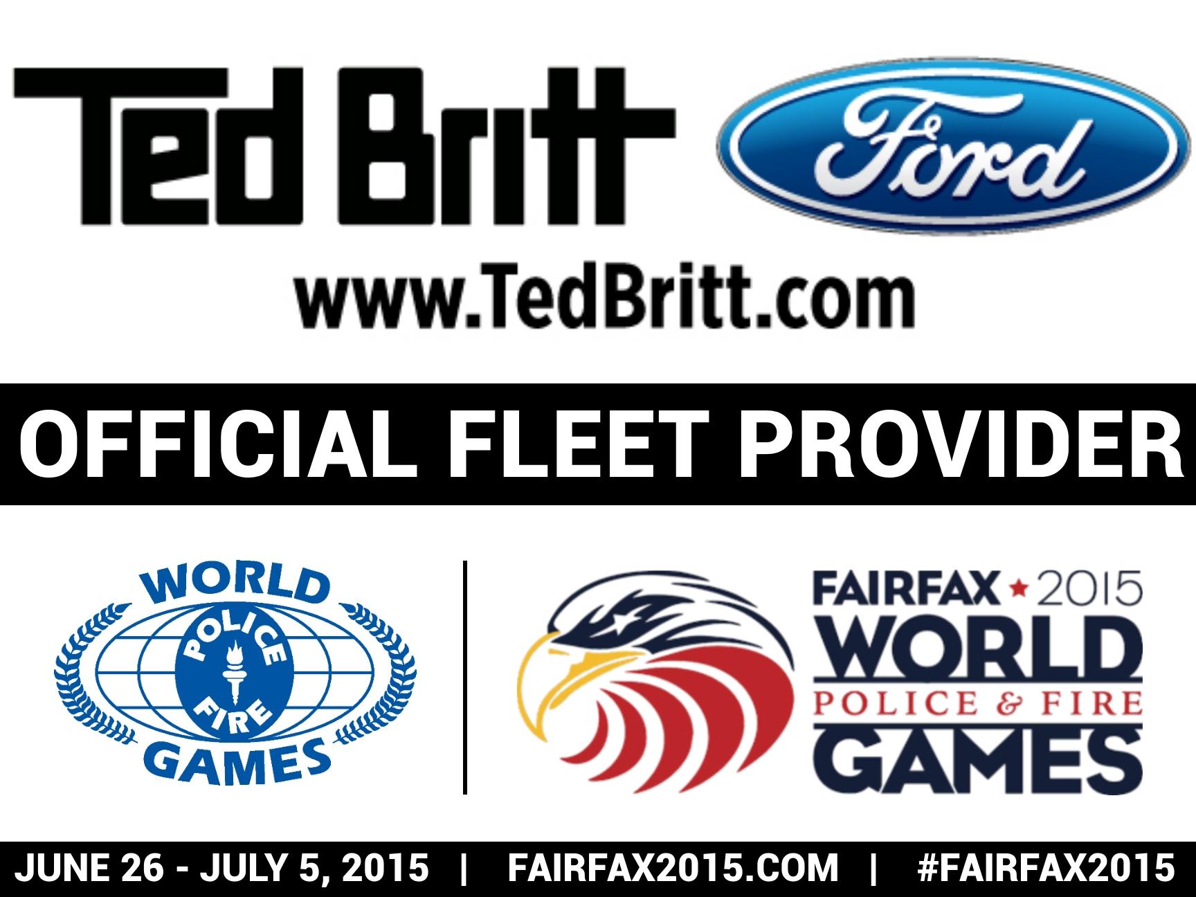 Official Fleet Provider Logo, Ted Britt Ford