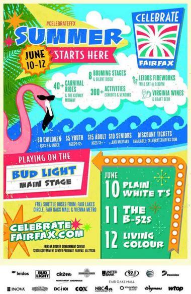 Celebrate Fairfax Flyer
