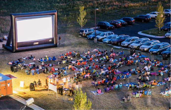 Picture, Loudoun Station Movie Nights