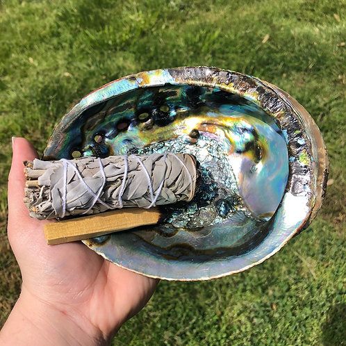Abalone Shell Cleansing Bundle