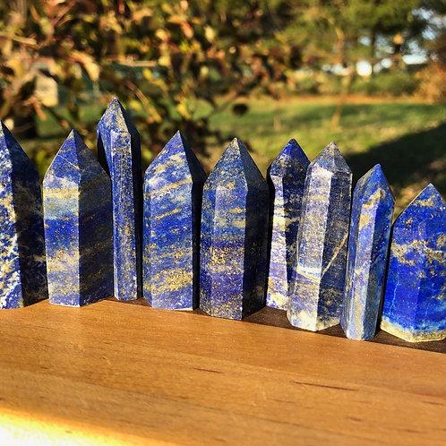 Lapis Lazuli Crystal Points
