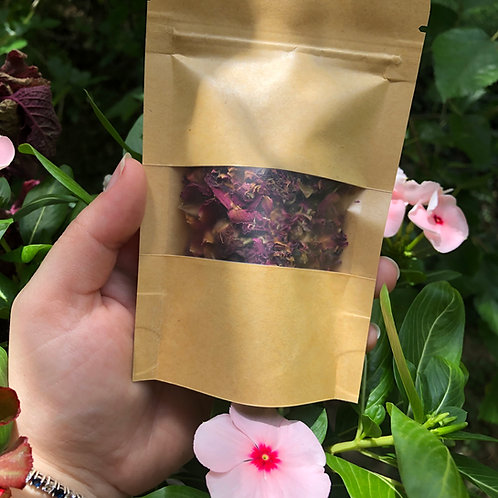 10g Bag of Dried Rose Buds