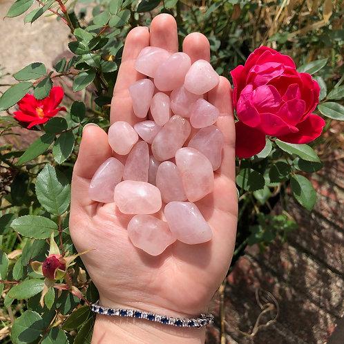Rose Quartz Tumbles