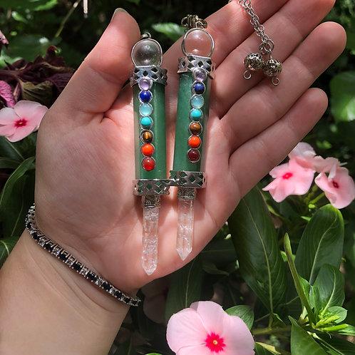 Green Aventurine Pendulums